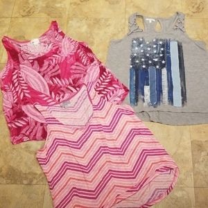 3 tank tops. XL.Maurices and Stylus brands.